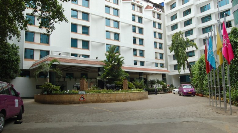 The Orchid Hotel Exterior