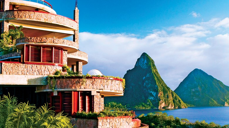 Jade Mountain Resort Exterior Images Ed By A Href Http