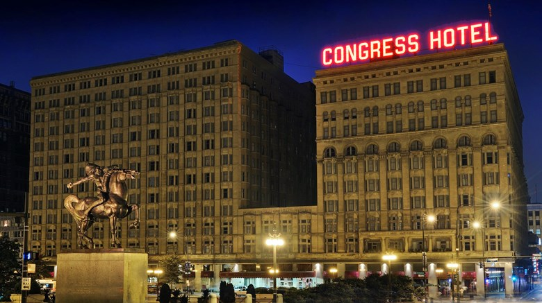 Congress Plaza Hotel Exterior Images Ed By A Href Http