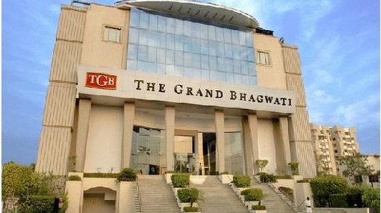 "The Grand Bhagwati Ahmedabad Exterior. Images powered by <a href=""http://www.leonardo.com""  target=""_blank"">Leonardo</a>."