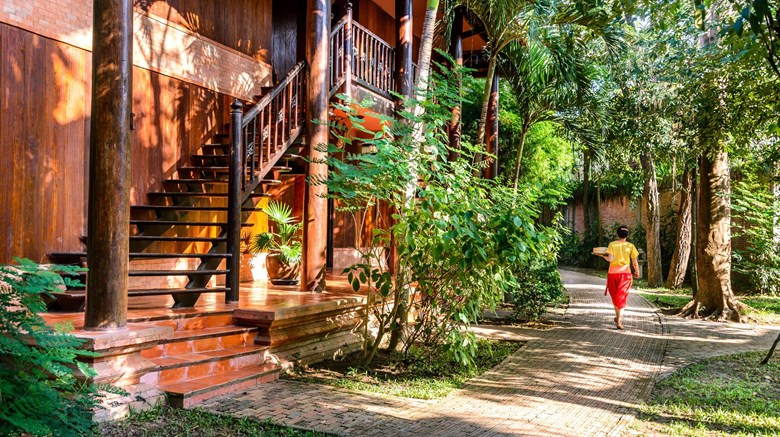 "Angkor Village Resort Exterior. Images powered by <a href=""http://www.leonardo.com""  target=""_blank"">Leonardo</a>."