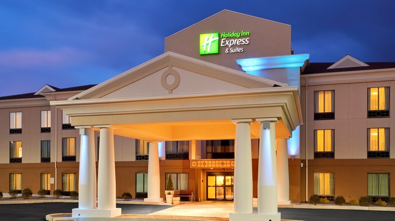 "Holiday Inn Express Hotel & Suites Exterior. Images powered by <a href=""http://www.leonardo.com""  target=""_blank"">Leonardo</a>."