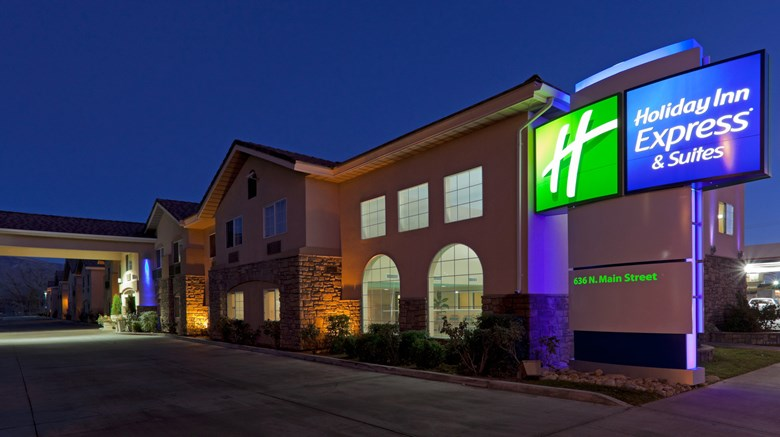 "Holiday Inn Express Exterior. Images powered by <a href=""http://www.leonardo.com""  target=""_blank"">VFM Leonardo</a>."
