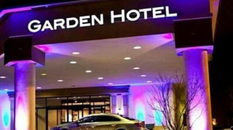 "Garden Hotel Exterior. Images powered by <a href=""http://www.leonardo.com""  target=""_blank"">Leonardo</a>."