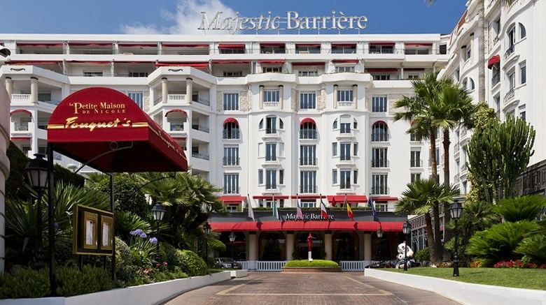 "Hotel Majestic Barriere Exterior. Images powered by <a href=""http://www.leonardo.com""  target=""_blank"">VFM Leonardo</a>."