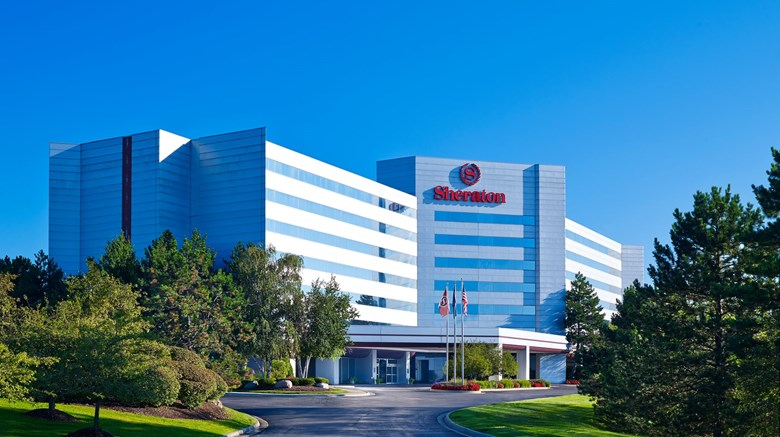 "Sheraton Detroit Novi Hotel Exterior. Images powered by <a href=""http://www.leonardo.com""  target=""_blank"">VFM Leonardo</a>."