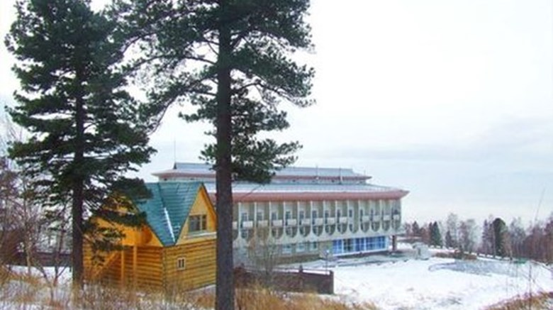 "Baikal Listvyanka Hotel Exterior. Images powered by <a href=""http://www.leonardo.com""  target=""_blank"">Leonardo</a>."