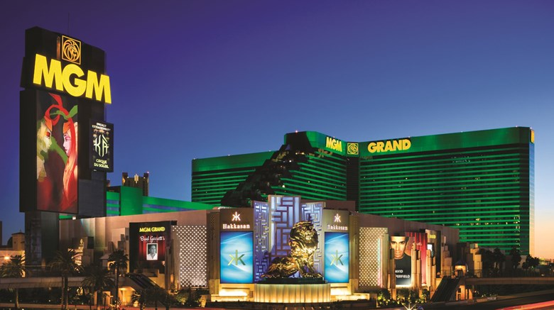 "SKYLOFTS at MGM Grand Exterior. Images powered by <a href=""http://www.leonardo.com""  target=""_blank"">VFM Leonardo</a>."