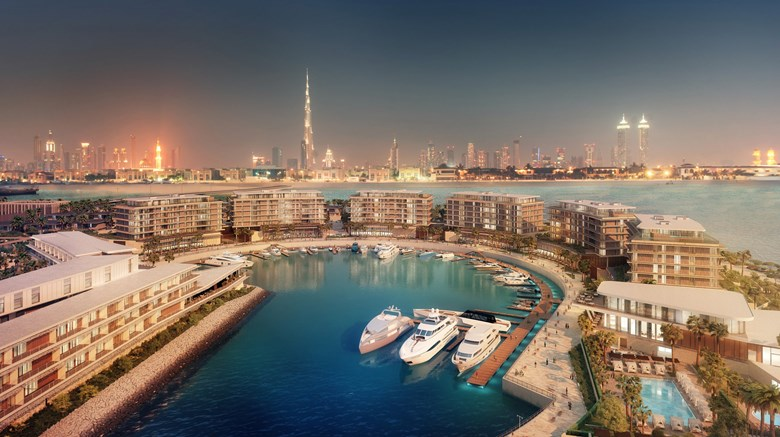 "Bulgari Resort & Residences Dubai Exterior. Images powered by <a href=""http://www.leonardo.com""  target=""_blank"">Leonardo</a>."