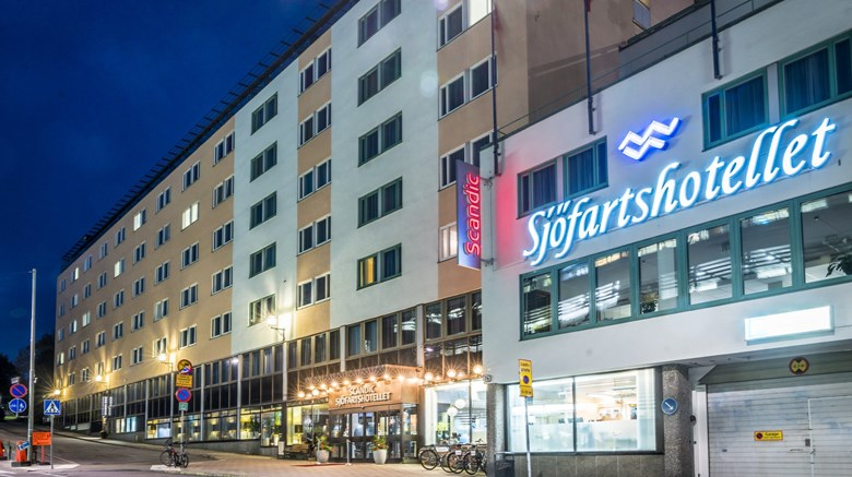 "Scandic Sjofartshotellet Exterior. Images powered by <a href=""http://www.leonardo.com""  target=""_blank"">Leonardo</a>."