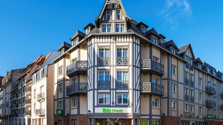 "Ibis Styles Deauville Centre Exterior. Images powered by <a href=""http://www.leonardo.com""  target=""_blank"">Leonardo</a>."
