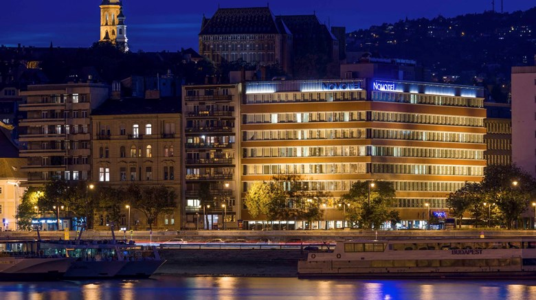 "Novotel Budapest Danube Exterior. Images powered by <a href=""http://www.leonardo.com""  target=""_blank"">Leonardo</a>."