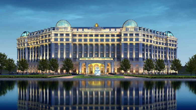 "Sofitel Shanghai Hongqiao Exterior. Images powered by <a href=""http://www.leonardo.com""  target=""_blank"">Leonardo</a>."