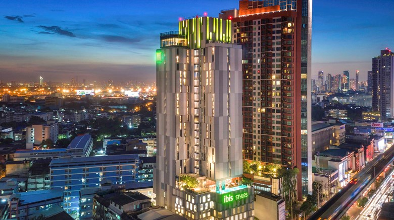 "ibis Styles Sukhumvit Phra Khanong Hotel Exterior. Images powered by <a href=""http://www.leonardo.com""  target=""_blank"">Leonardo</a>."