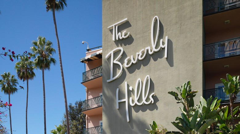 "The Beverly Hills Hotel & Bungalows Exterior. Images powered by <a href=""http://www.leonardo.com""  target=""_blank"">VFM Leonardo</a>."