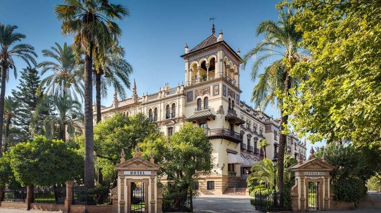 "Hotel Alfonso XIII, Luxury Collection Exterior. Images powered by <a href=""http://www.leonardo.com""  target=""_blank"">Leonardo</a>."
