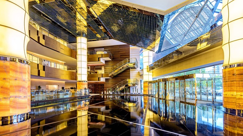"The Westin Beijing, Chaoyang Lobby. Images powered by <a href=""http://www.leonardo.com""  target=""_blank"">Leonardo</a>."