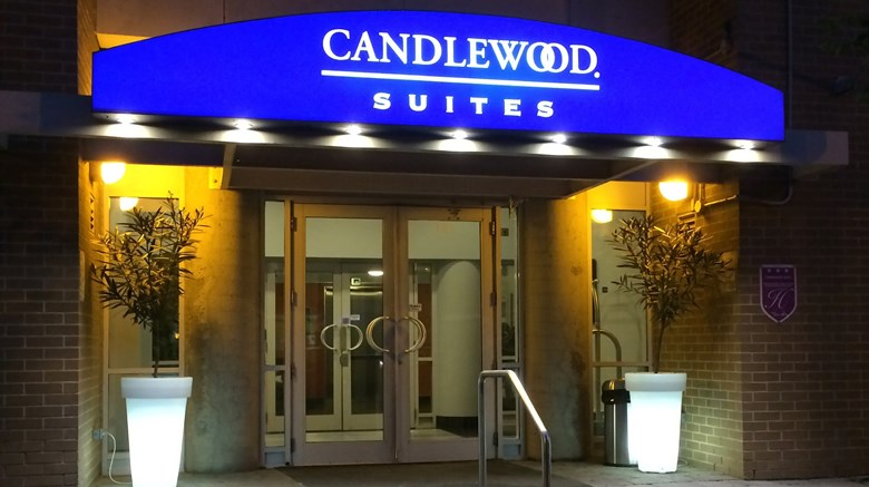 "Candlewood Suites Montreal Centre-Ville Exterior. Images powered by <a href=""http://www.leonardo.com""  target=""_blank"">Leonardo</a>."