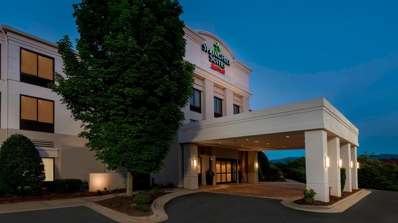 "SpringHill Suites Asheville Exterior. Images powered by <a href=""http://www.leonardo.com""  target=""_blank"">Leonardo</a>."