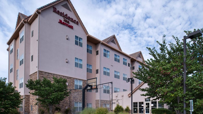 "Residence Inn Albuquerque Airport Exterior. Images powered by <a href=""http://www.leonardo.com""  target=""_blank"">Leonardo</a>."