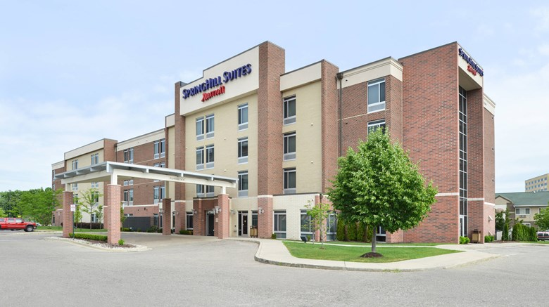 Springhill Suites Detroit Metro Airport Exterior Images Ed By A Href Http