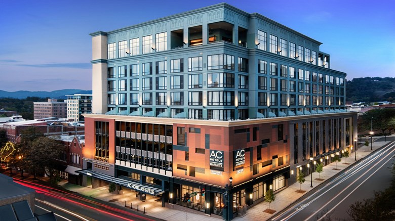 "AC Hotel Asheville Downtown Exterior. Images powered by <a href=""http://www.leonardo.com""  target=""_blank"">VFM Leonardo</a>."