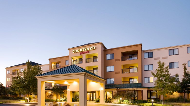 "Courtyard by Marriott Exterior. Images powered by <a href=""http://www.leonardo.com""  target=""_blank"">Leonardo</a>."