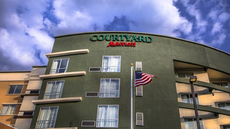 "Courtyard by Marriott Charleston Exterior. Images powered by <a href=""http://www.leonardo.com""  target=""_blank"">Leonardo</a>."