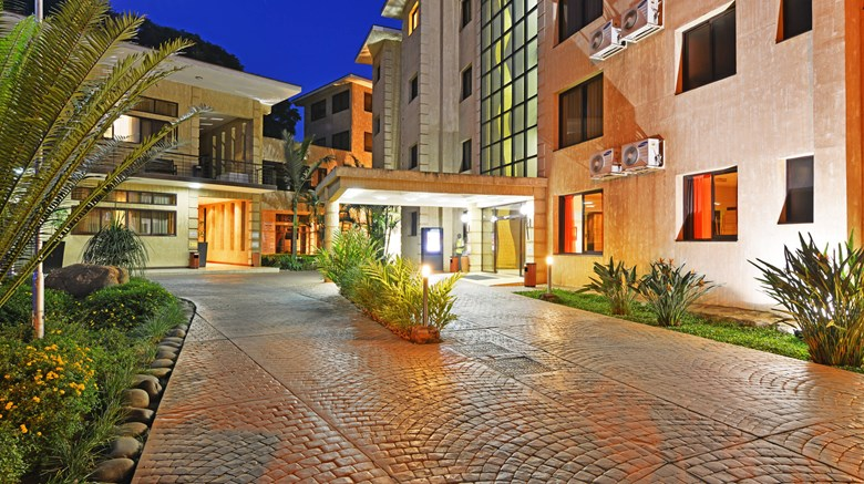 "Protea Hotel Kampala Exterior. Images powered by <a href=""http://www.leonardo.com""  target=""_blank"">Leonardo</a>."
