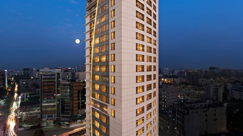 "Four Points by Sheraton Dhaka, Gulshan Exterior. Images powered by <a href=""http://www.leonardo.com""  target=""_blank"">Leonardo</a>."
