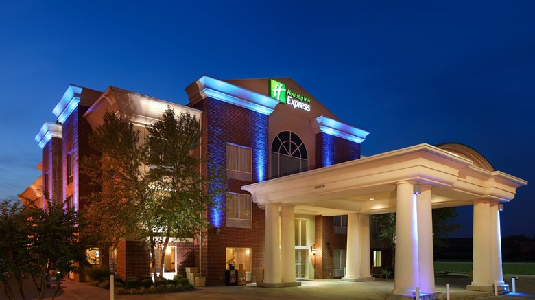 Holiday Inn Express Fort Smith Executive Exterior Images Ed By A Href