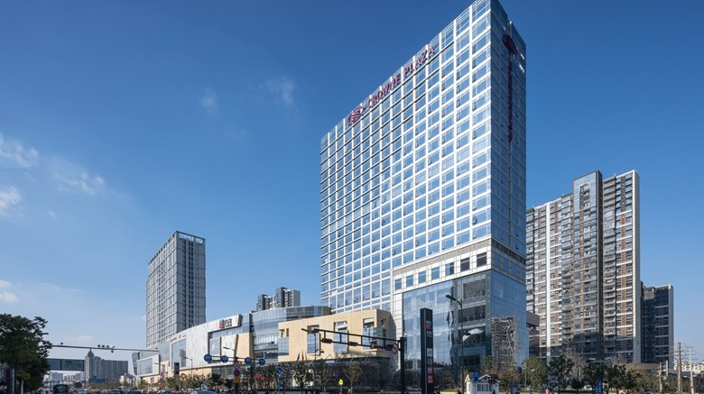 "Crowne Plaza Kunshan Exterior. Images powered by <a href=""http://www.leonardo.com""  target=""_blank"">Leonardo</a>."
