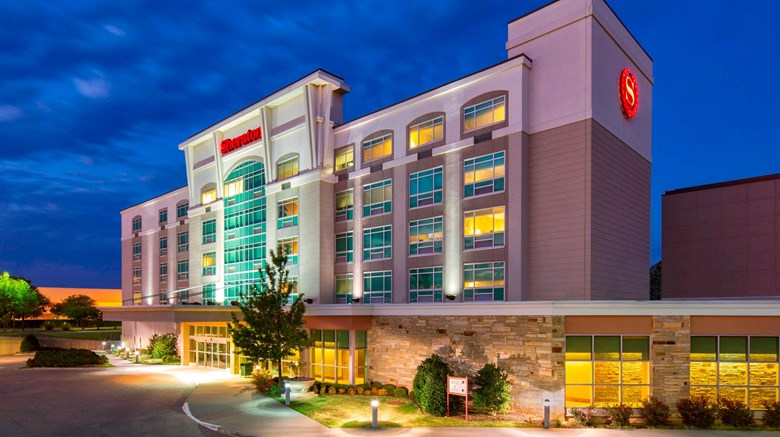 "Sheraton Midwest City Hotel Exterior. Images powered by <a href=""http://www.leonardo.com""  target=""_blank"">Leonardo</a>."