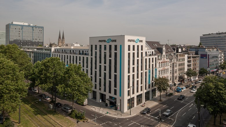 "Motel One Dusseldorf-Central Station Exterior. Images powered by <a href=""http://www.leonardo.com""  target=""_blank"">Leonardo</a>."