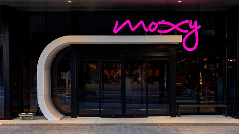 "Moxy Atlanta Midtown Exterior. Images powered by <a href=""http://www.leonardo.com""  target=""_blank"">Leonardo</a>."