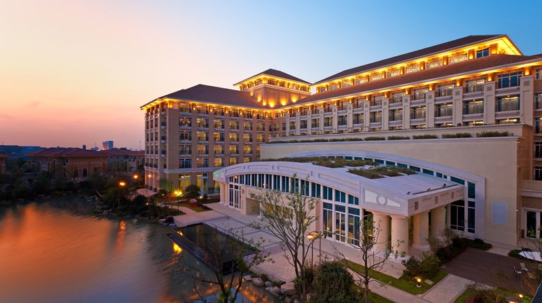 "Sheraton Changzhou Wujin Hotel Exterior. Images powered by <a href=""http://www.leonardo.com""  target=""_blank"">Leonardo</a>."