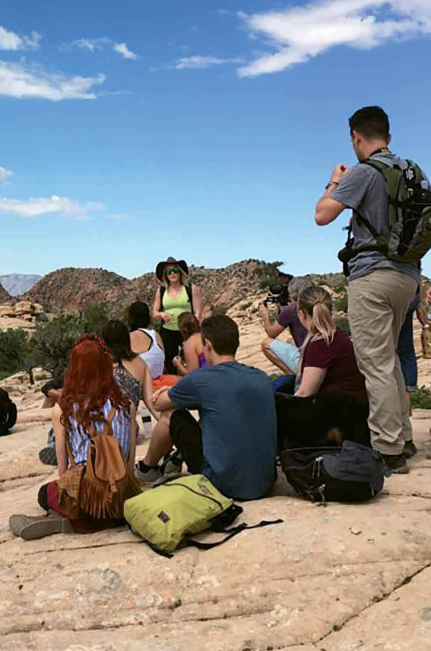 A Utah outing of Instagram influencers hosted by Travel Mindset.