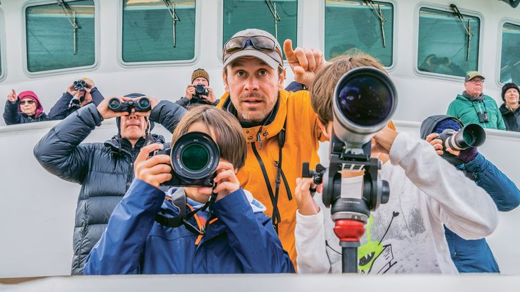 Lindblad Expeditions partners with National Geographic to carry photo instructors on its ships.