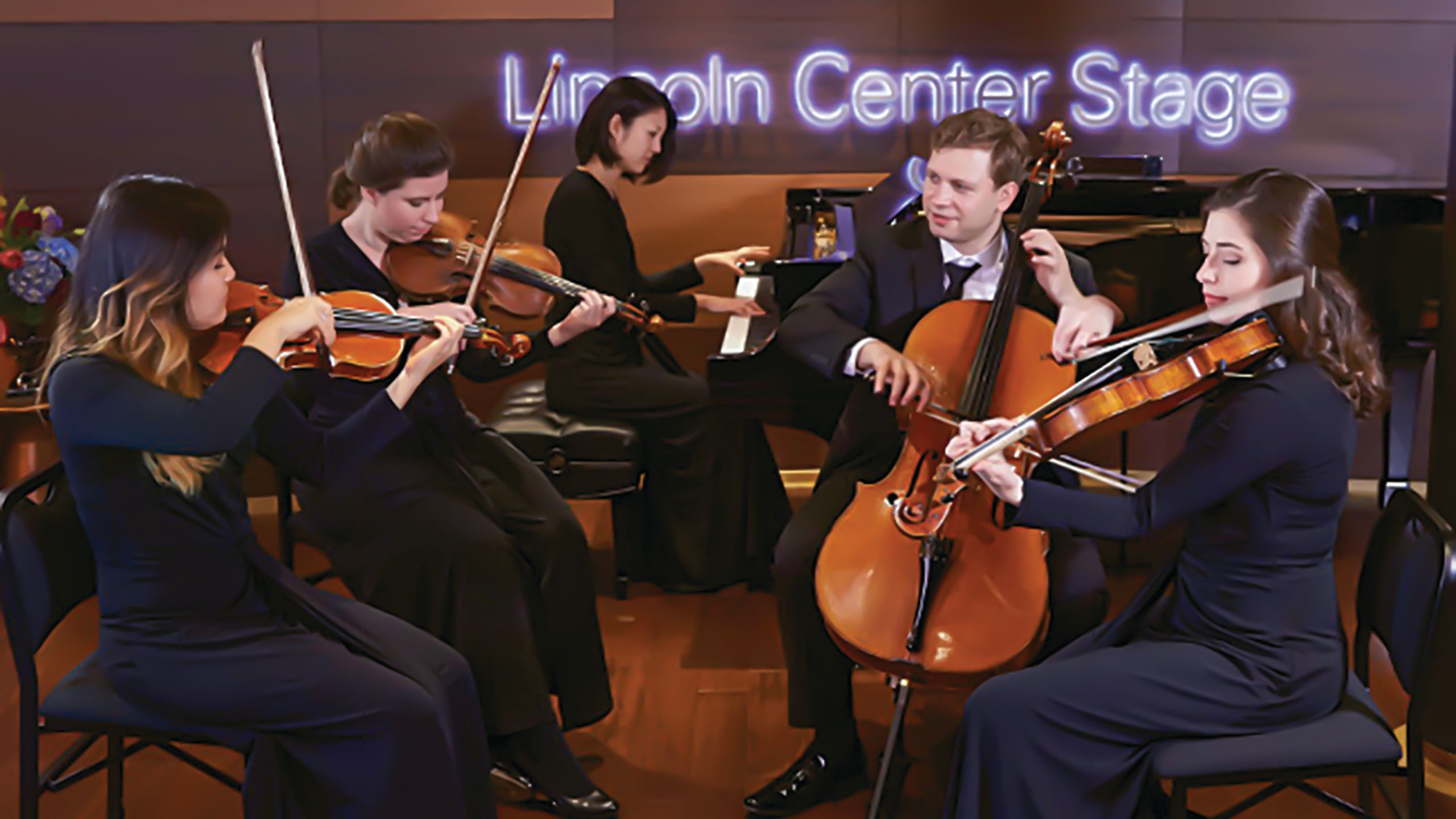 The cruise line also has a partnership with Lincoln Center, which supplies classically trained musicians.