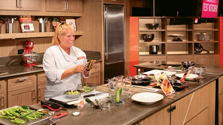 "Holland America Line's cooking instruction is supplied through its partnership with ""America's Test Kitchen,""  a popular television program on PBS."