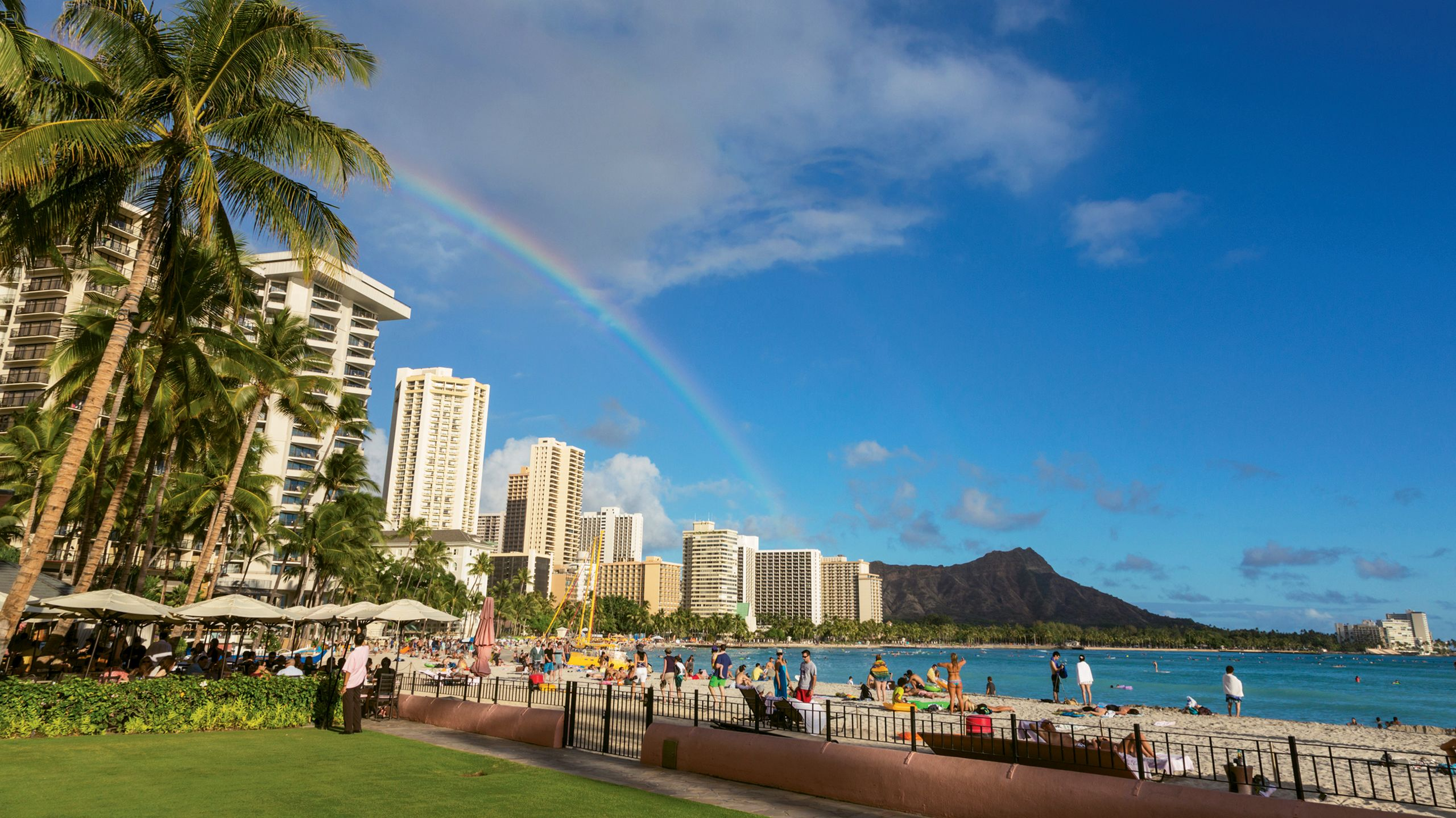 Hawaii has gone from 8 million visitors a year to 10 million visitors a year without adding much hotel stock, and vacation rentals have absorbed much of the new traffic. Photo by Tor Johnson/ HTA