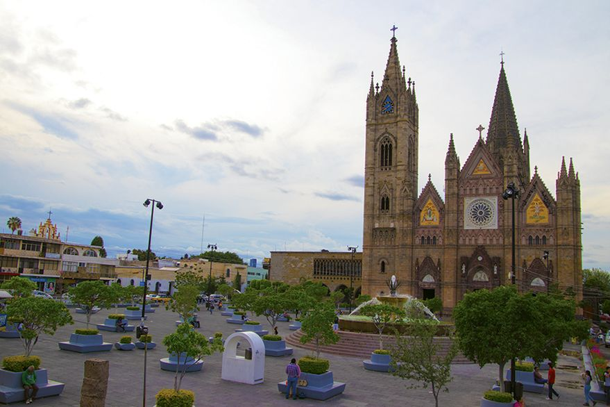 The Templo Expiatorio in Guadalajara is a good place to ponder that age-old question: What's for dinner? Photo by Eric Moya