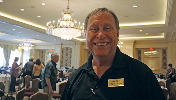 Tauck Tour Director Wayne Allen uses comedy and charm to keep travelers engaged.