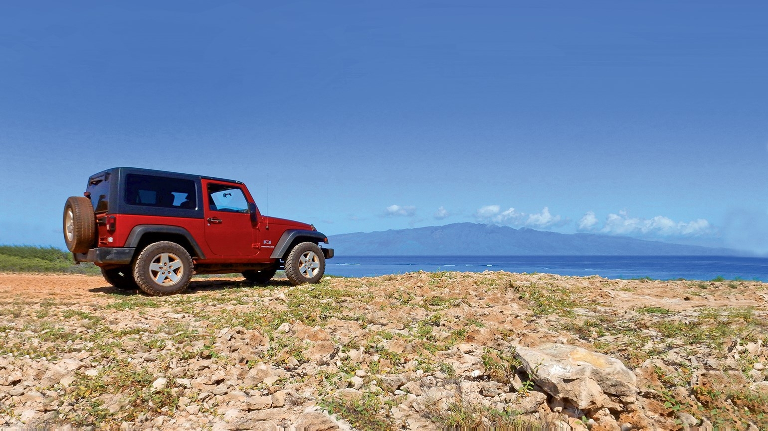 On Lanai, rugged roads and refurb