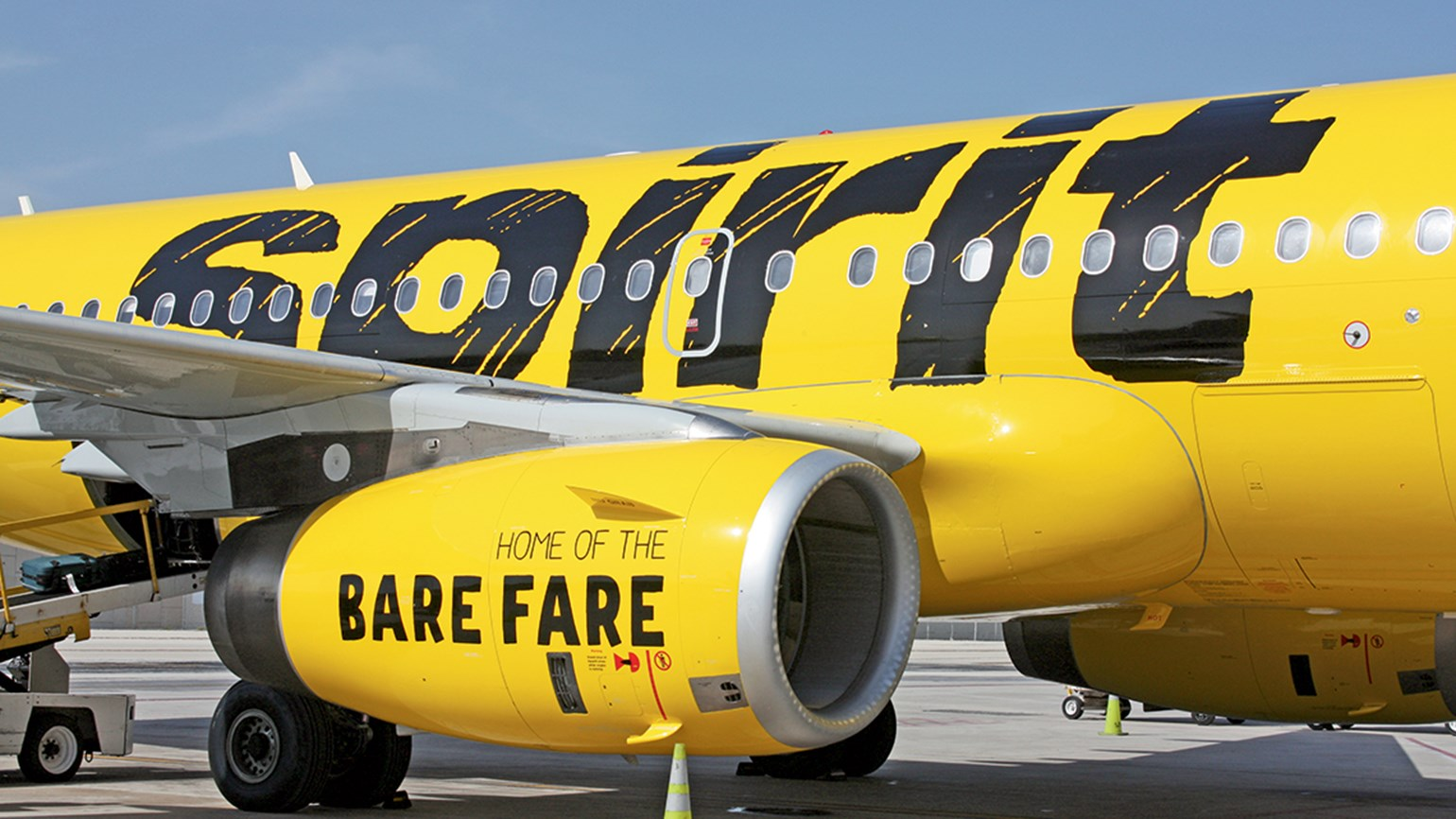 Spirit Airlines, not as bad as it used to be