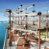 Norwegian Escape to get larger sports complex and water park