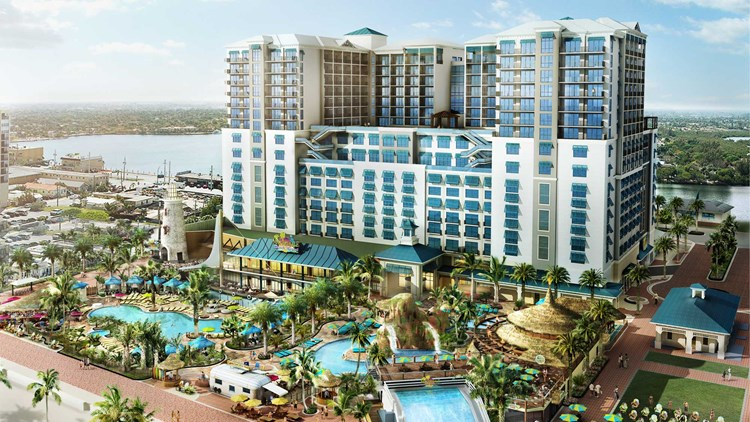Margaritaville s presence grows from song to eateries to for Architectural concepts pensacola florida