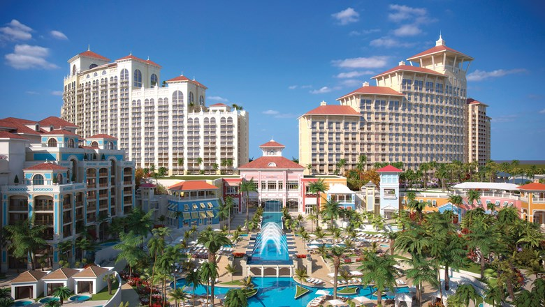 A rendering of the Baha Mar resort.