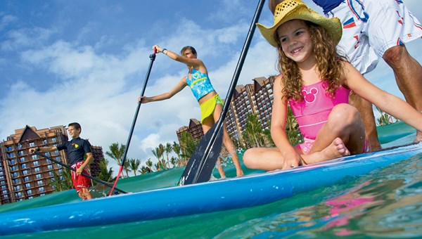 Aulani, a Disney Resort & Spa offers a variety of activities for children.