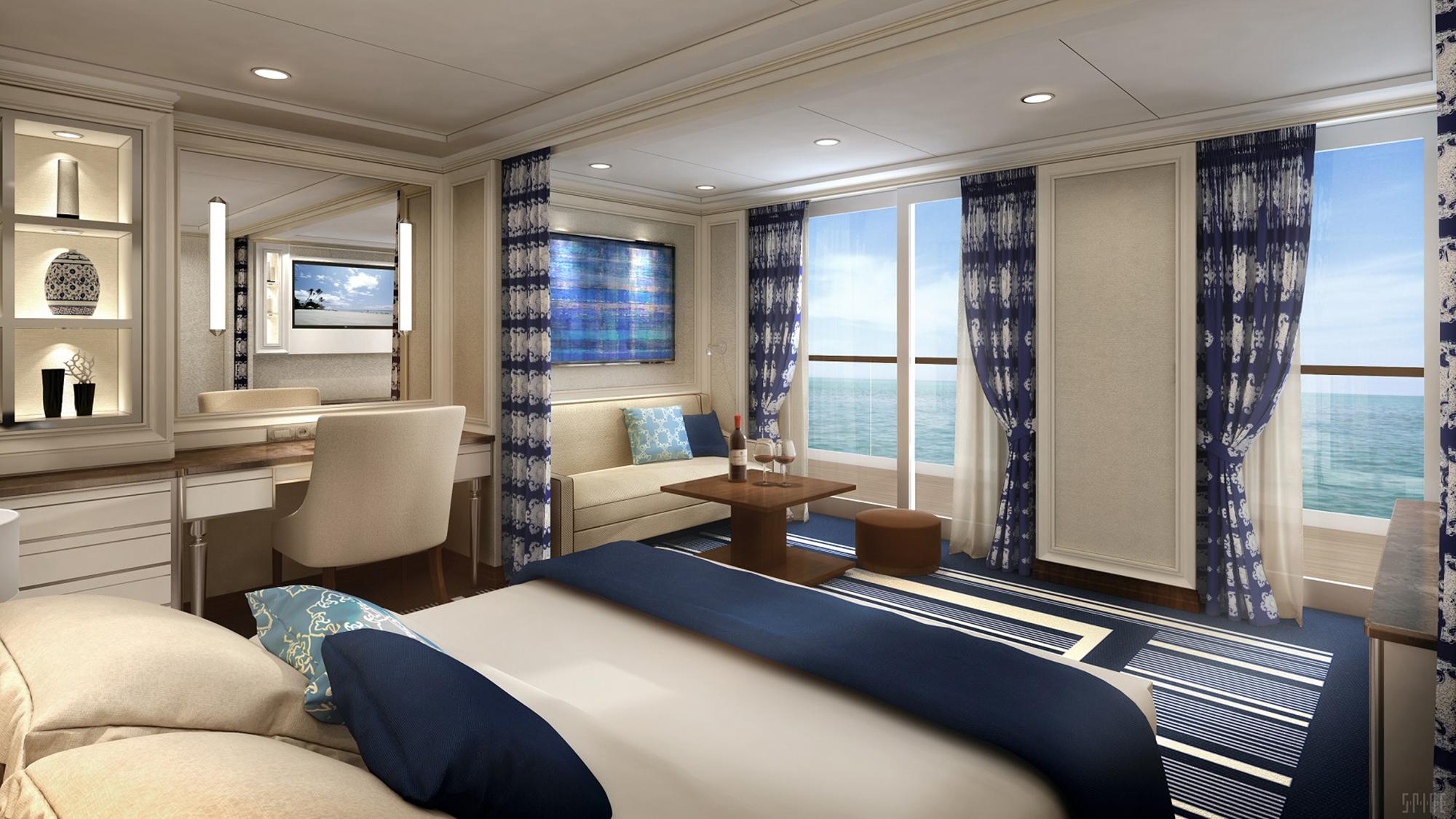 Regent Details Suite Lineup On Seven Seas Explorer Travel